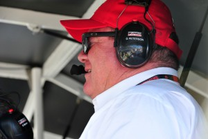 Chip Ganassi, team owner reacts to a crash involving Sage Karam and Justin Wilson. Sage Karam injured in a crash on August 23rd, 2015, at Pocono Raceway in Long Pond. (Chris Post | lehighvalleylive.com)