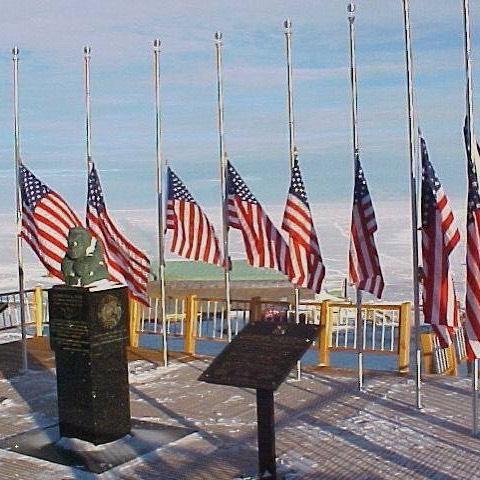 9-11 Memorial in Antarctica, circa 2001