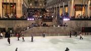 Fall Ice Skating