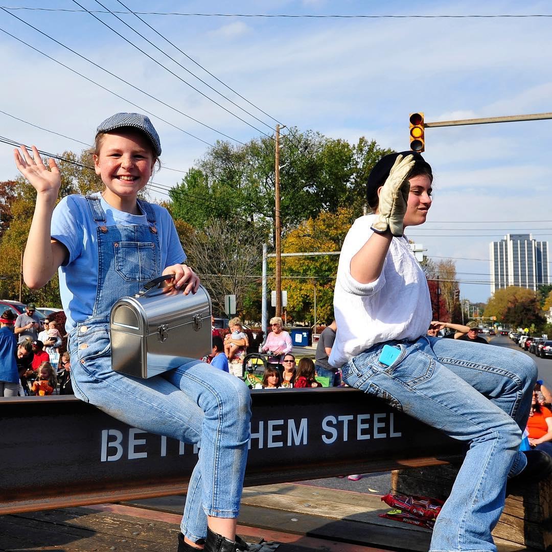 Steelworkers - Bethlehem Halloween parade