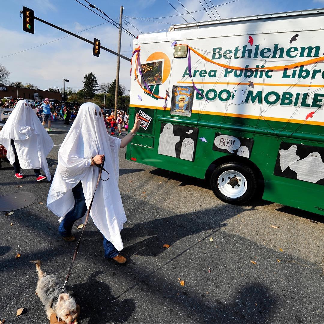 Boo Mobile - Bethlehem Halloween parade