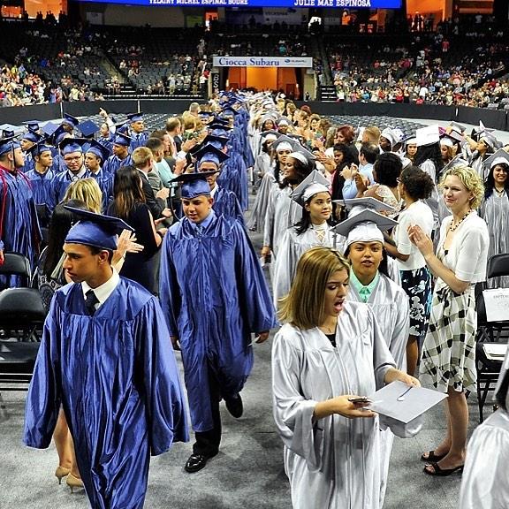 Dieruff High School graduation