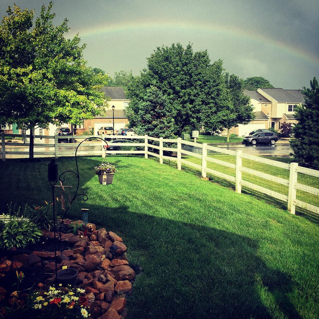 Post Rain Rainbow