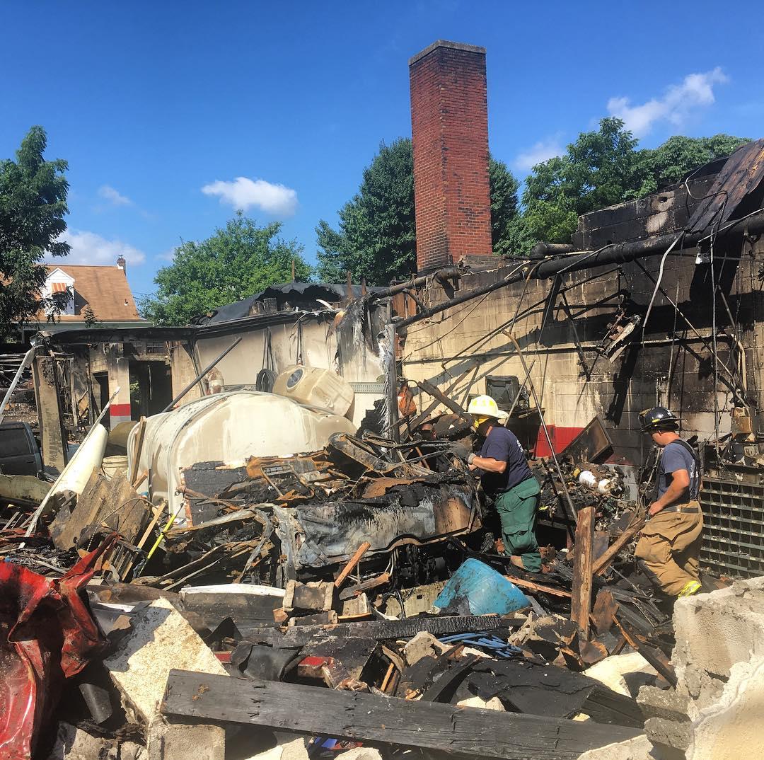 Fountain Hill Fire investigation