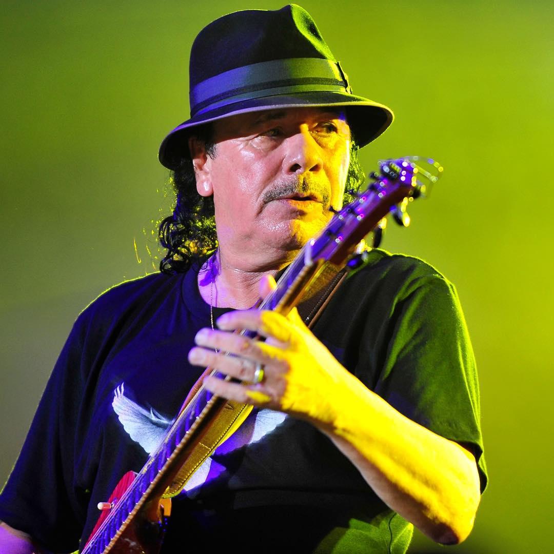 Carlos Santana plays at Musikfest