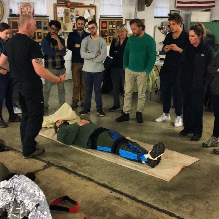 Hostile Environment First Aid Training