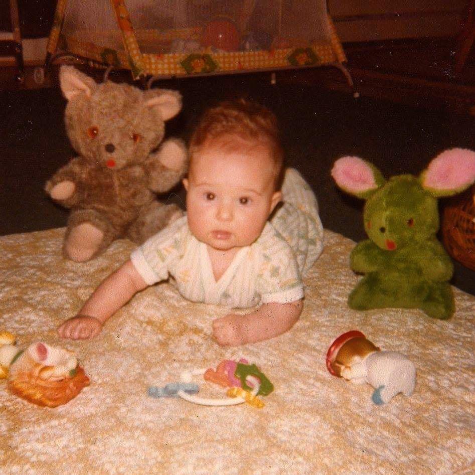 Baby Me, Circa 1979.