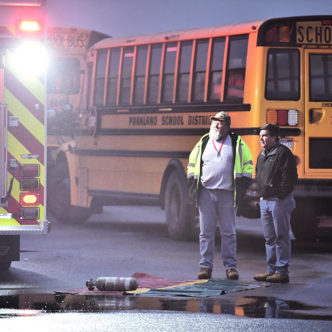 Parkland Bus Depot Fire