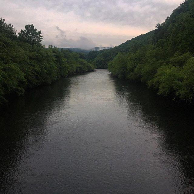 Lehigh River at Jim Thorpe