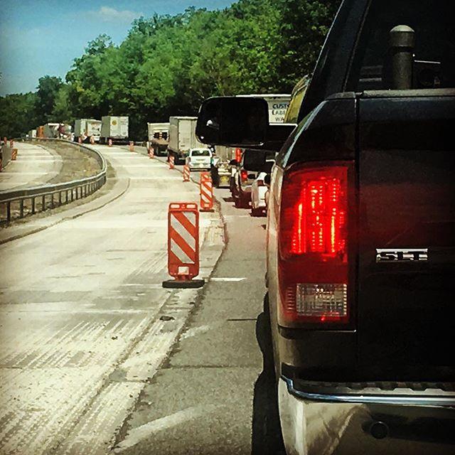 Construction Season in Pennsylvania 🙄