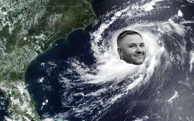 Hurricane Chris, churning up the Atlantic 😂😂