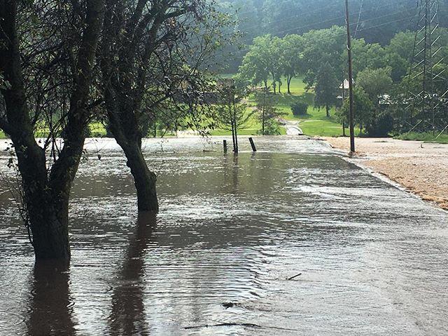 Major flooding slams southwestern Lehigh County