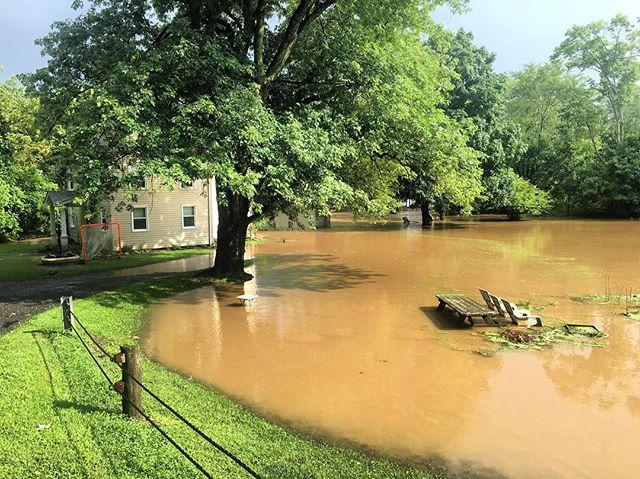 Major flooding in Southwestern Lehigh County
