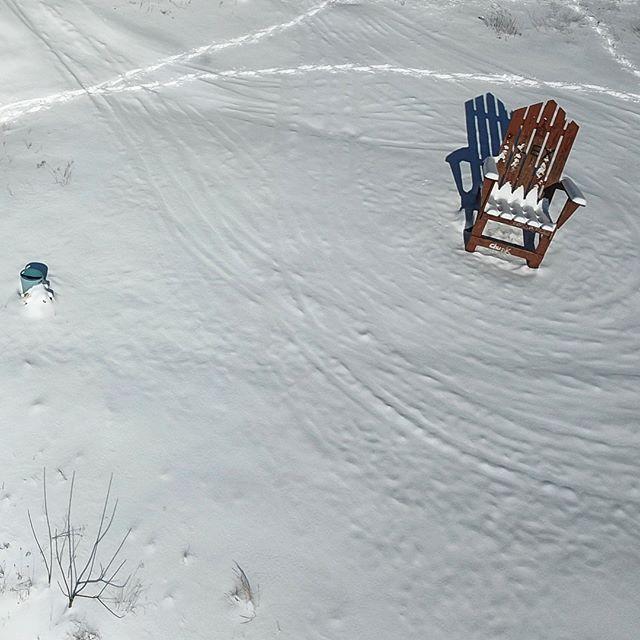"Bangor, Pennsylvania's ""Big Chair"" by UAV"
