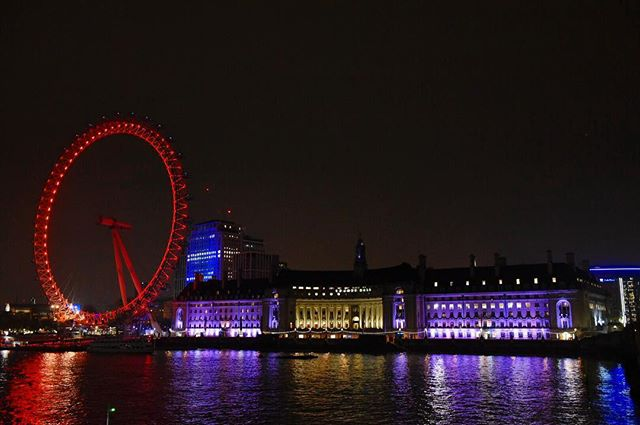 London's Eye and Marriott County Hall Hotel