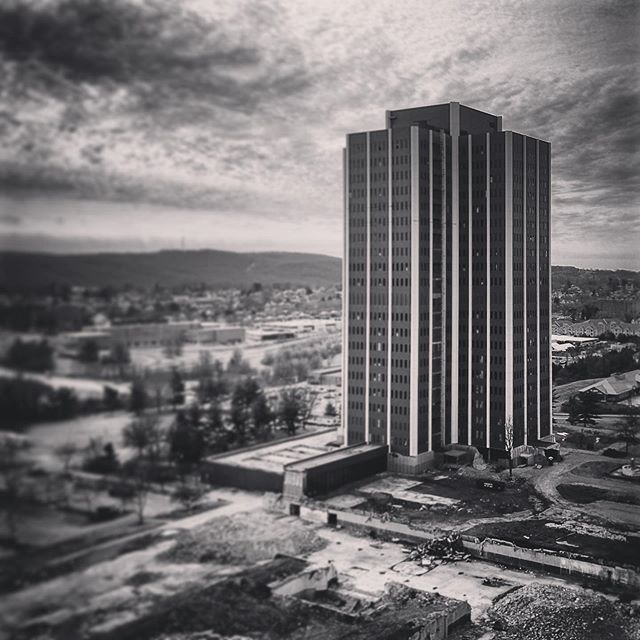 On Sunday Martin Tower comes down! Watch it live on @69news starting at 6AM.