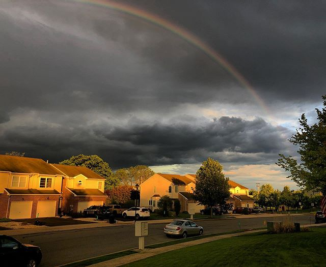 The Rainbow: a sign things will be alright.