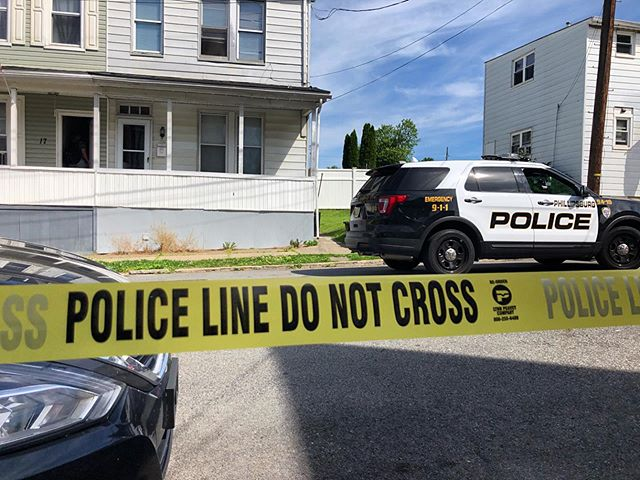 A standoff in Phillipsburg, NJ ended peacefully when a man inside this home on Davis Street surrendered to police. @69news