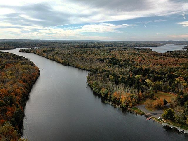 Lake Nockamixon by @69news QuadCopter