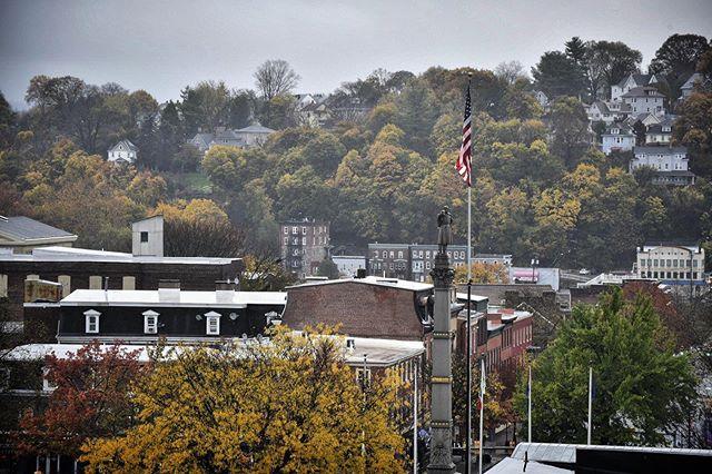 Rainy day in Easton
