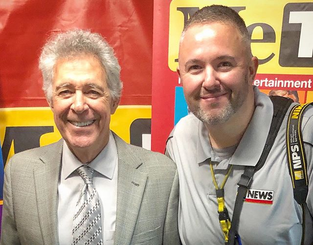 Barry Williams / Greg Brady and I hanging out. #CoolStuffAtWork